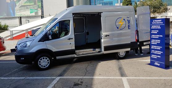 La e-Transit de Ford llegará a España a comienzos de primavera