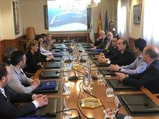 Aeutransmer visita Repsol y el Puerto de A Coruña