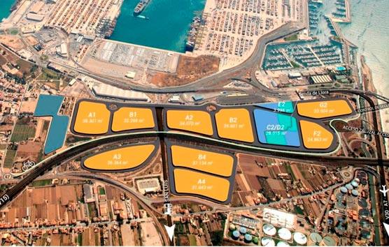 Se publican los pliegos de comercialización de la ZAL del puerto de Valencia