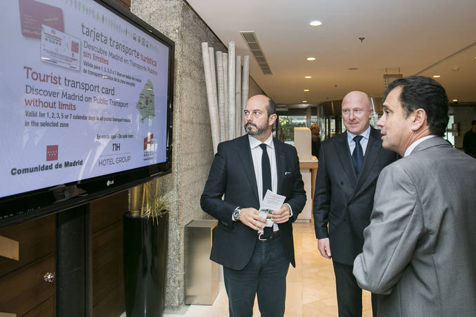 NH Hotel Group y el CRTM impulsarán los TPV de Tarjetas de Transporte Público turísticas
