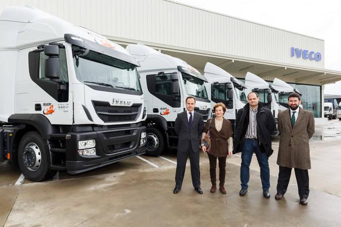 Transportes Inlagri compra cinco Iveco Stralis propulsados por gas natural licuado