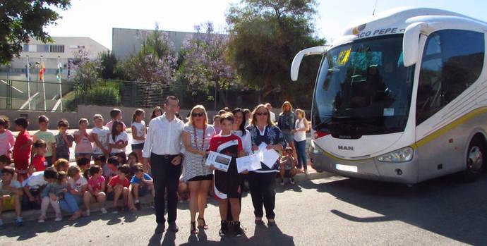 Autobuses Paco Pepe organiza un concurso en los colegios de Málaga para concienciar sobre seguridad vial