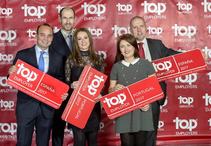 Scania consigue nuevamente la certificación Top Employers