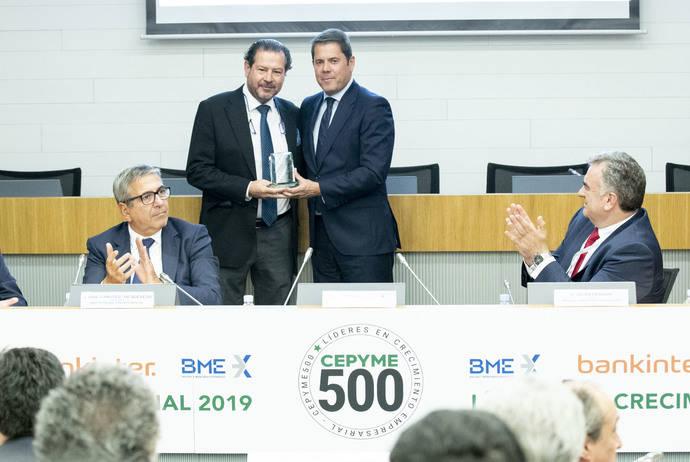 Parcisa es elegida un año más en el listado del Proyecto Cepyme500