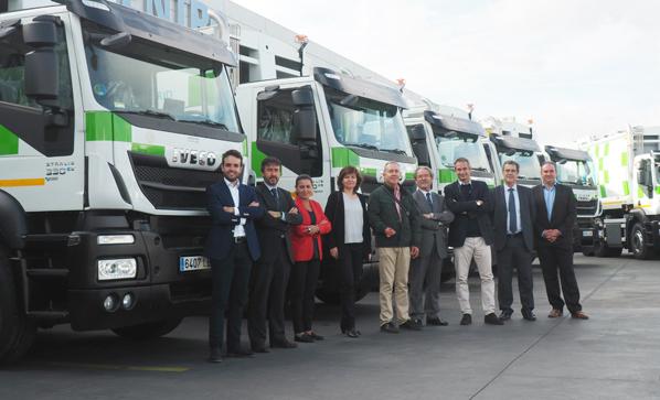 Madrid, más limpia con Iveco Stralis de gas natural para recogida de residuos