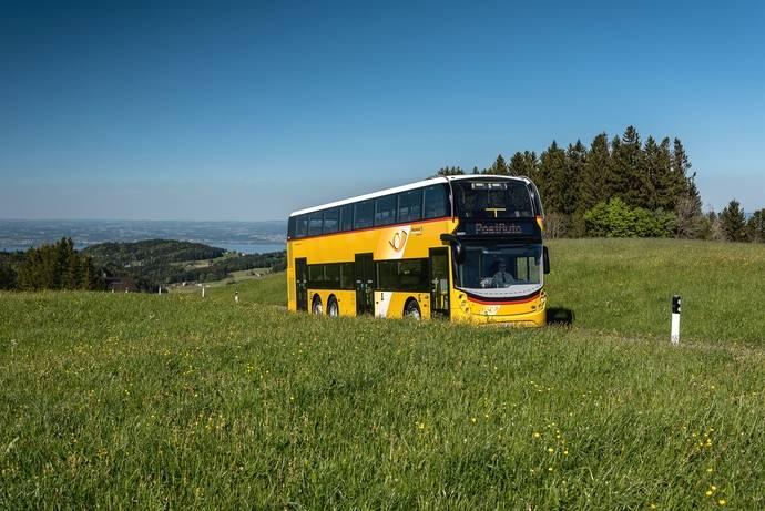 Renovación de los autocares de dos pisos de PostBus en Suiza