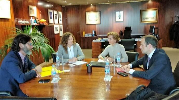 Reunión de Aeutransmer con la Presidenta de Puertos del Estado