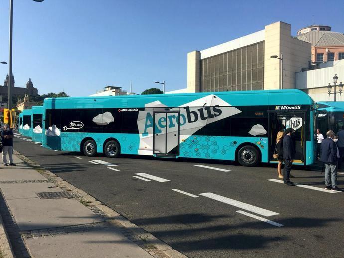 Aerobús confía a King Long para los autobuses eléctricos de su flota