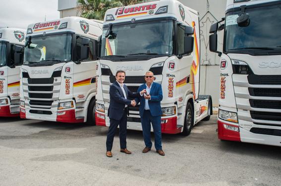 El Grupo Fuentes suma 30 unidades Scania S500 a su flota