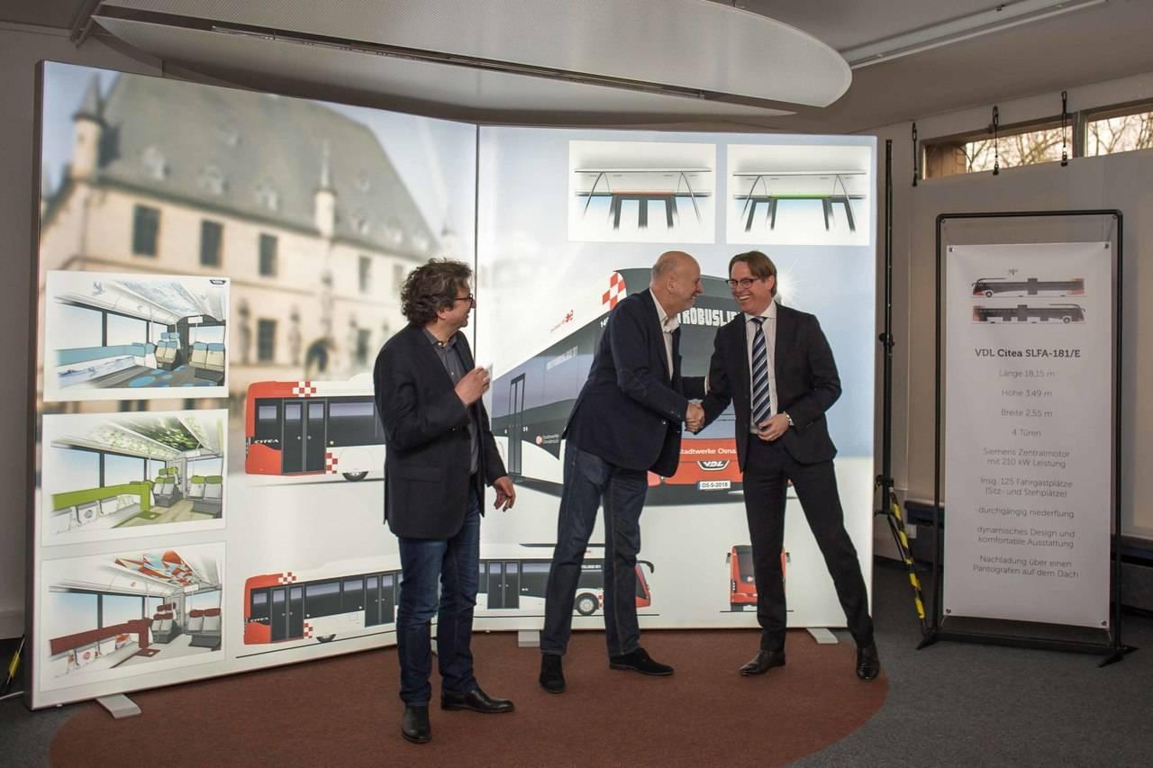 VDL proveerá autobuses eléctricos a Osnabrück