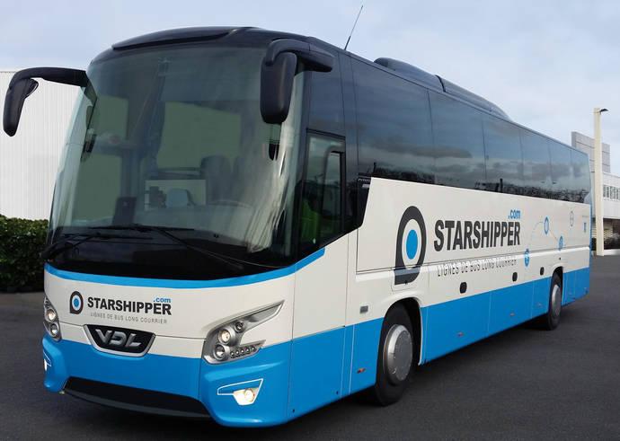 21 VDL Futura para las líneas de autobuses de larga distancia francesas