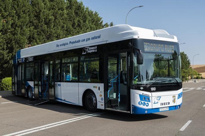 Grupo Ruiz presenta 5 nuevos autobuses propulsados por GNC