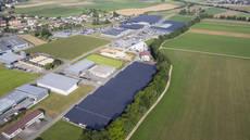 Abierta la fotovoltaica sobre mallas de sombreo más potente de Suiza