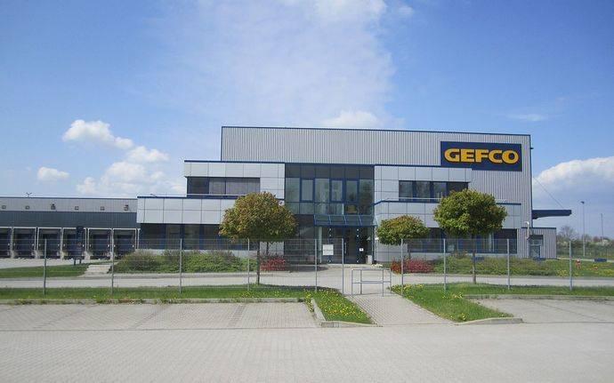 Un centro logístico de Gefco.