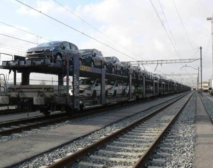 Éxito en el corredor ferroviario de Gefco con Francia
