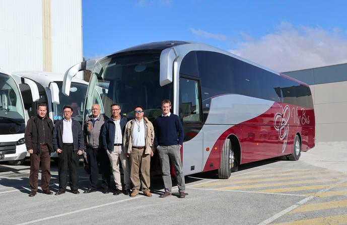 Un nuevo SC5 de Sunsundegui para Granada Vip Bus