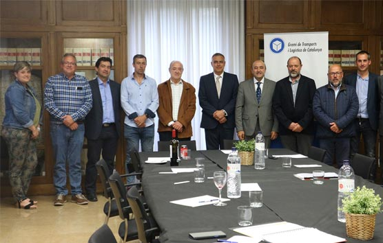 El Gremio de Transportes y Logística de Cataluña se reúne con Pere Padrosa