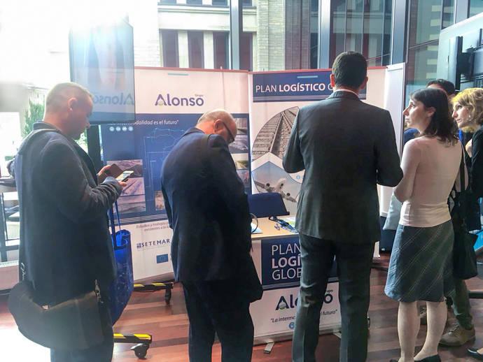 Grupo Alonso exhibe en Tallin el potencial de su Plan Logístico Global