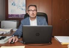 El director de operaciones de Moldtrans, Luis Bou.