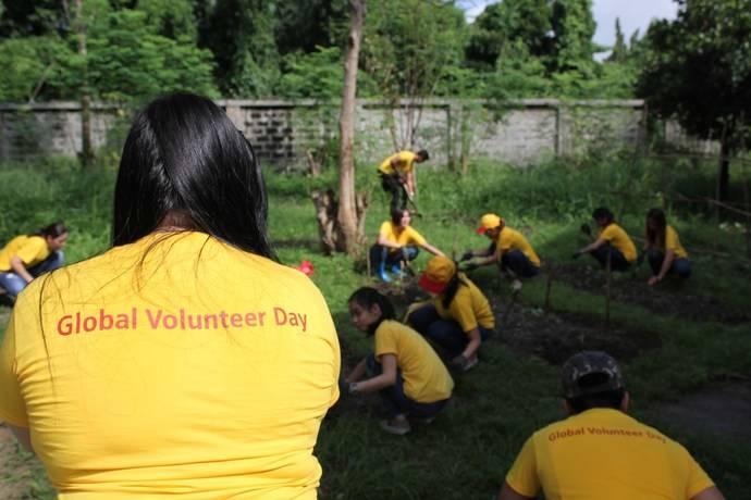 Séptima edición del Día Mundial del Voluntariado de los empleados de DHL