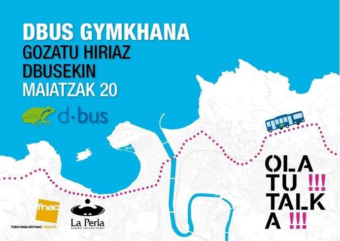 Éxito de la gymkhana organizada por Dbus para conocer el transpote público