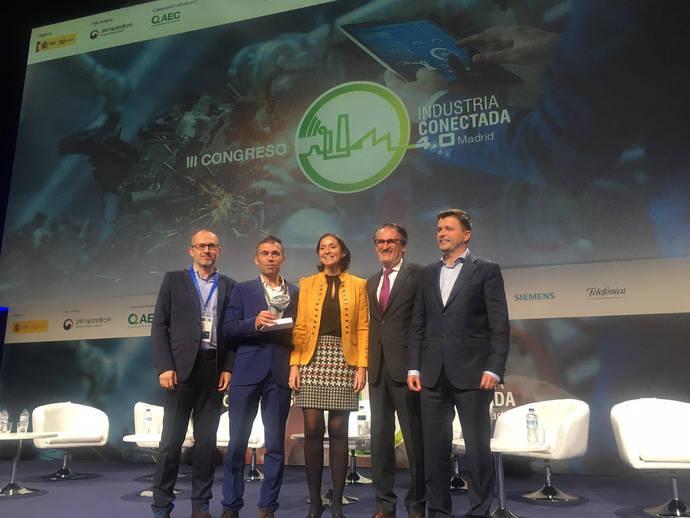 Iveco se alza con el galardón de Industria Conectada 4.0.