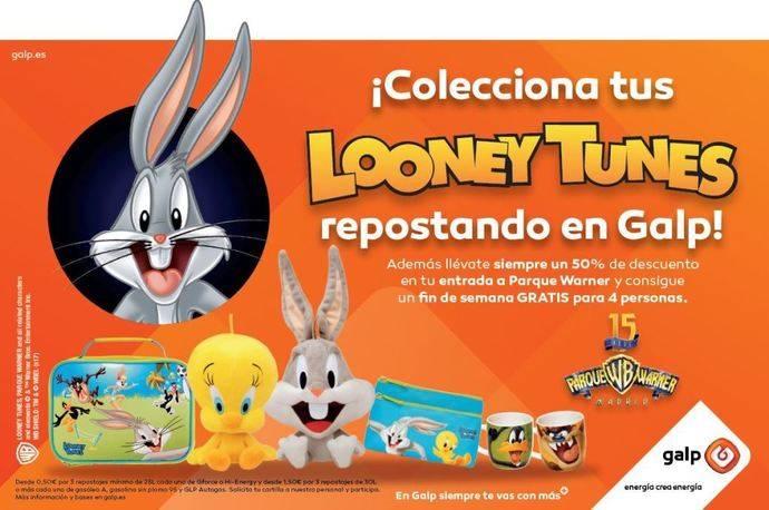 Los Looney Tunes llegan a las estaciones de servicio Galp