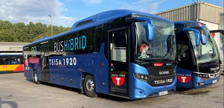 Teisa pone en marcha el primer bus híbrido interurbano en la Garrotxa