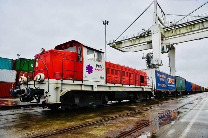 Primer tren bloque completo de Gefco en la nueva Ruta de la Seda