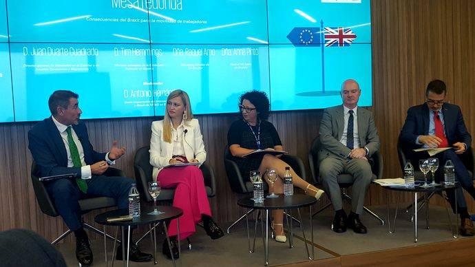 Gil Stauffer, KPMG y Cámara Británica, encuentros sobre movilidad y Brexit