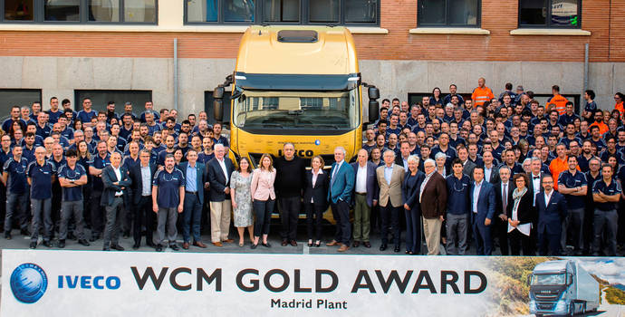 La planta de Iveco en Madrid alcanza el oro