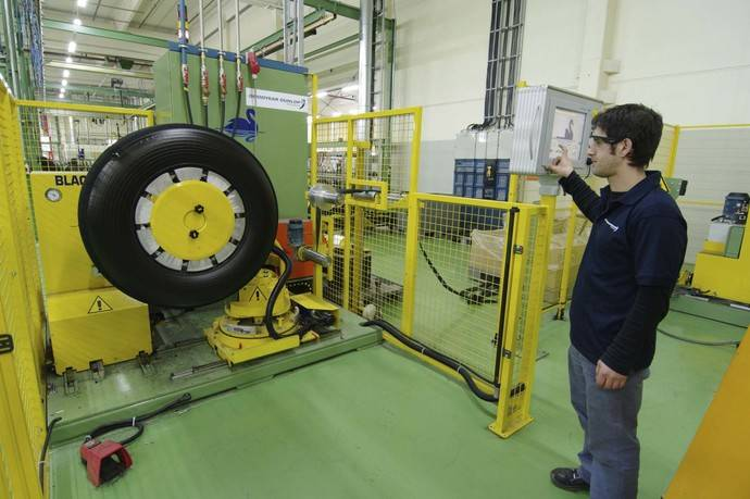 Éxito del nuevo sistema de gestión de carcasas Dunlop