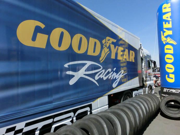 Goodyear es elegido por la FIA para el Campeonato de Camiones