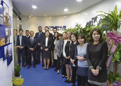 El Grupo Rhenus continúa apostando por Corea del Sur