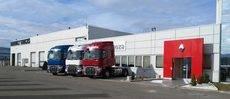 Los vehículos pertenecen a la Gama T de Renault Trucks.