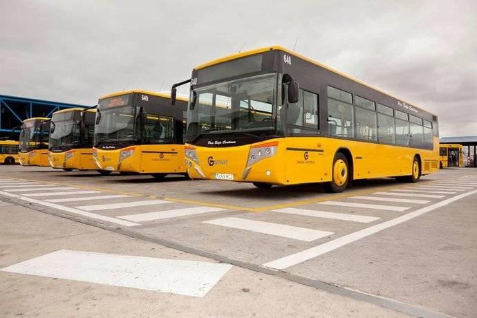 Vectia realizará tres autobuses híbridos para Guaguas Municipales