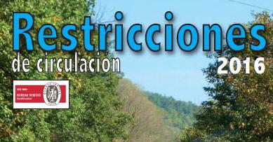 Guitrans presenta el Folleto Restricciones de Circulación 2016