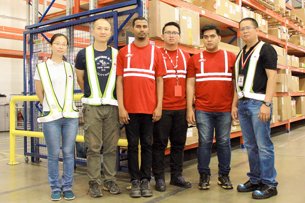 Equipo de Honeywell Aerospace Trading (HAT) en Asia Pacífico.