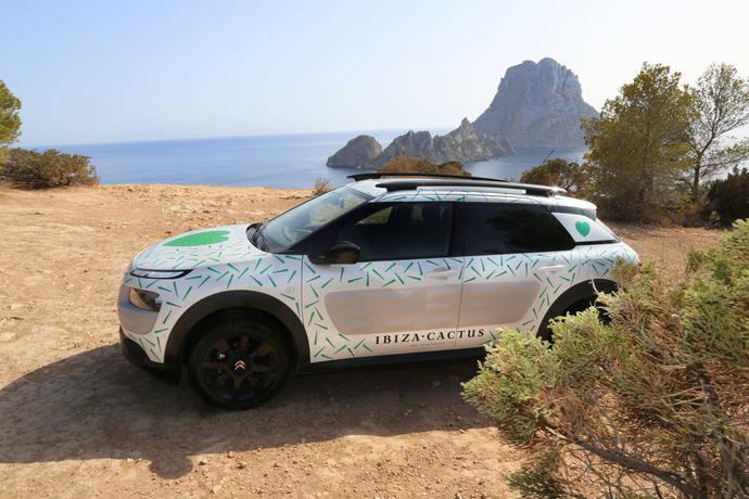 El Citroën C4 Cactus, embajador de la iniciativa Ibiza Cactus