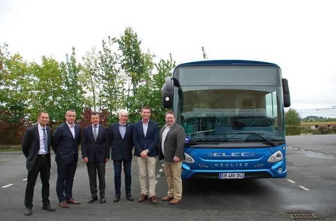 Heuliez Bus recibe un importante pedido de su nueva gama de autobuses urbanos eléctricos para la ciudad noruega de Trondheim