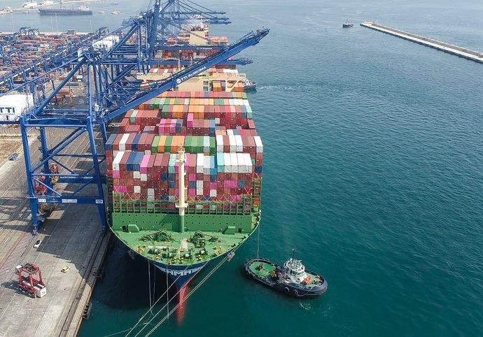 Julio, mes de mayor actividad en el Puerto de Algeciras