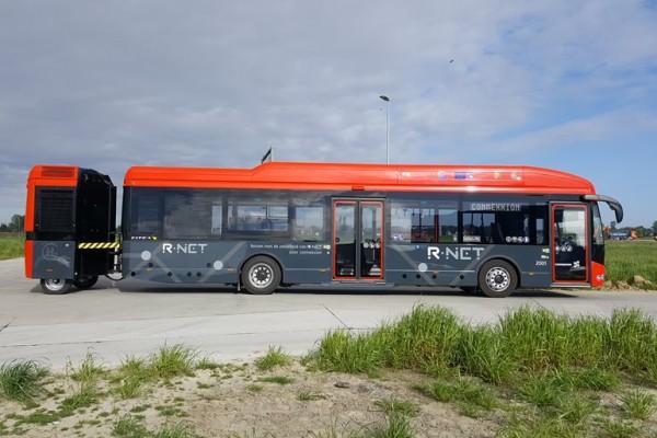 Se presenta autobús VDL a hidrógeno con remolque de combustible