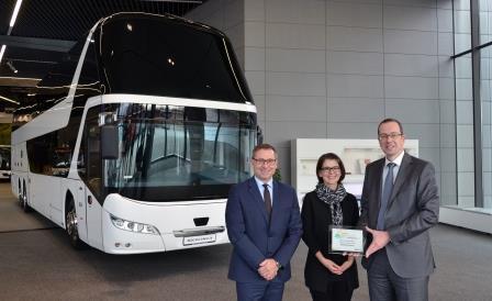 Premio Internacional de sostenibilidad a NEOPLAN Skyliner