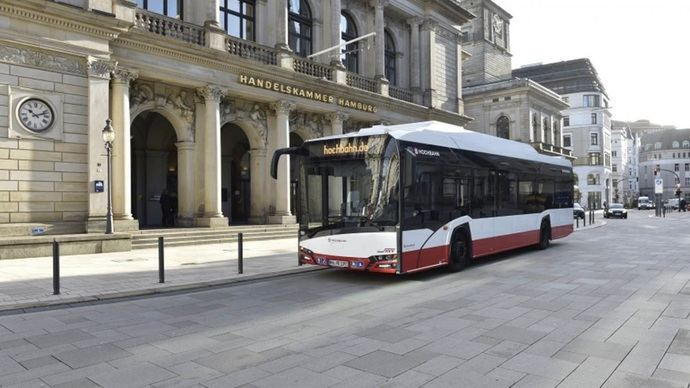 50 autobuses con pilas de combustible para Hamburgo a finales de año