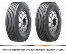 A partir de noviembre de 2016, Hankook suministrará estos neumáticos a las plantas de producción en Suecia.