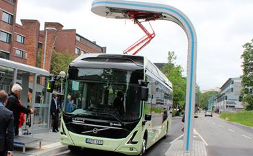 Cargadores rápidos Heliox para buses del Schiptol