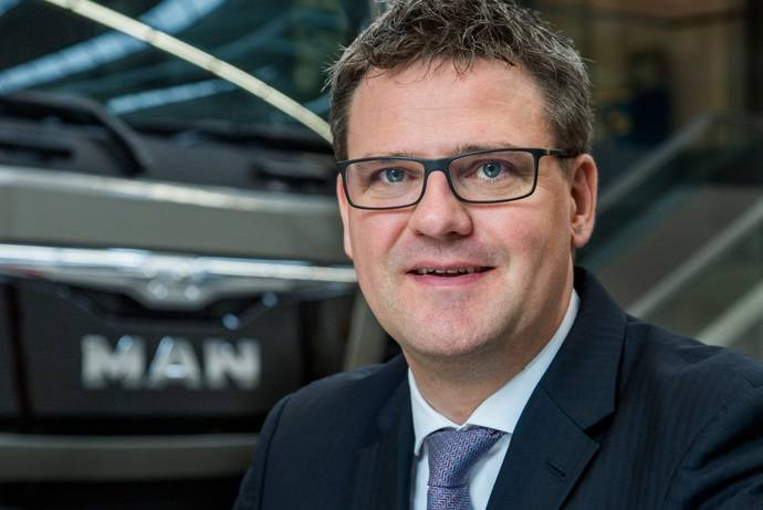 Christoph Herr es el nuevo director de gestión de productos MAN Truck & Bus
