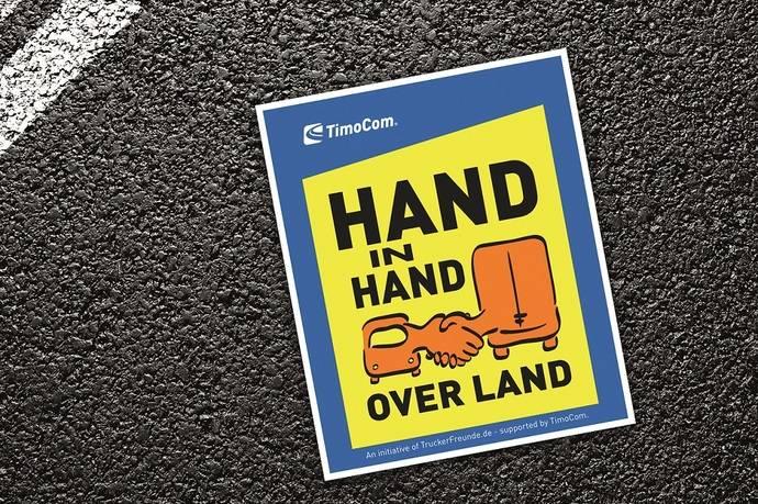 'Mano a mano por el país', nueva campaña de TimoCom