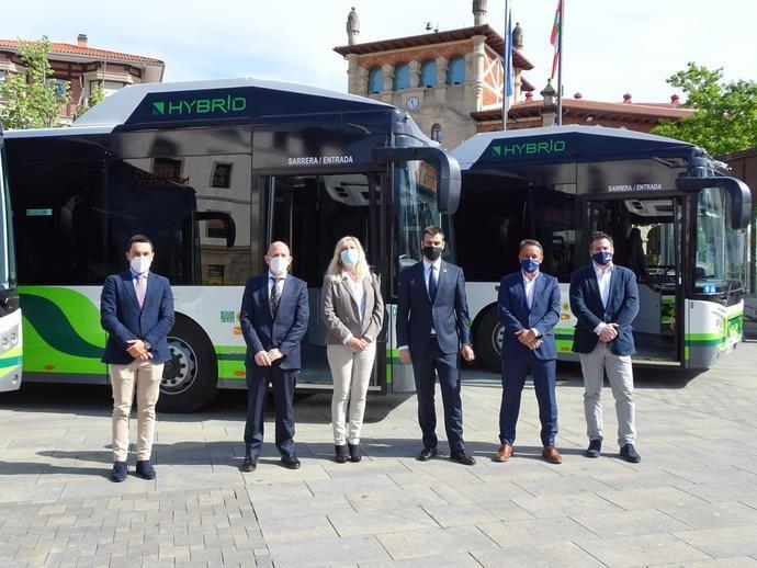 Seis nuevos autobuses híbridos de Scania para Grupo Acha
