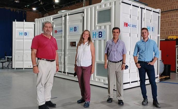 FM Logistic prueba con éxito la hidrogenera que va a implantar en septiembre